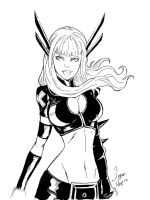 Magik Sketch by hannibalelcanibal