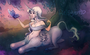 Amalthea Centaur by relsgrotto