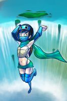 Squirtle Ginjika by JohanneLight
