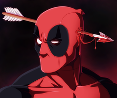 Deadpool_Color_by_Afran67 by afran67