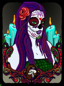 Lady Of The dead by TechBehr