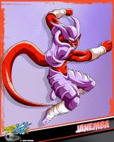 DBkai card #10 Janemba by Bejitsu