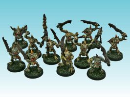 Nurgle Plaguebearers (2nd release) by nergling