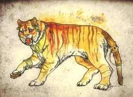 Indian Tiger by IzaPug