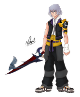 [Request] Master Riku by WingBlade48