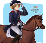 Dressage Olympics 2012 by say0ran