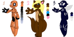 Mixed Species Adoptables - [OPEN: 60 points] by Perianth5