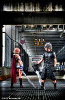 Noctis And Lightning by FT-Natsu