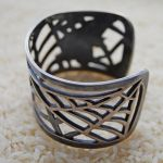 Black Widow Cuff - view two by Twitching