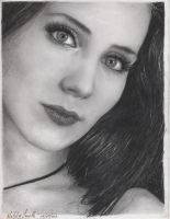 Simone Simons Portrait by LaPicher