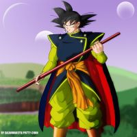 SON GOKU MISTICO by salvamakoto