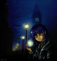 Cold London Night by Rinian