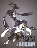 Brains and Brawn by kjmarch
