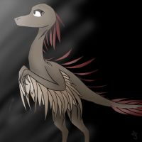 Archaeopteryx thing by DerCouch