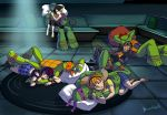 Exhausted Heros by BrushBell