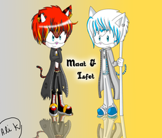 Maat And Isfet COM by animeroxygirl