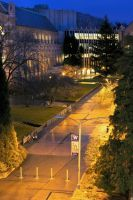 University of Washington Walkway by vmulligan