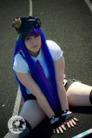 Stocking Anarchy -Cop Cosplay- by MikuMikuJinx
