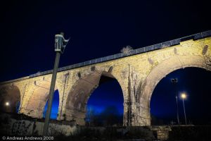 Railway Arches Burnley HDR by andreasandrews
