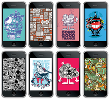 iPhone Walls Vol.1 by j3concepts