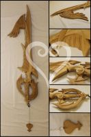 Way To The Dawn Keyblade (Unpainted) by Sephiroths-Shadow