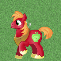 Big Macintosh by Andromedasparkz