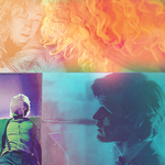 The Doctor and River Song by snowdropsandrain