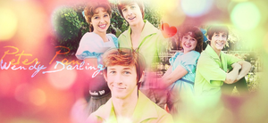 Peter Pan and Wendy Darling by ScreamxStrawberries