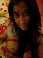 Psychedelic Nudity: Bloody Whore (Thefluffyz) by Hallucinography
