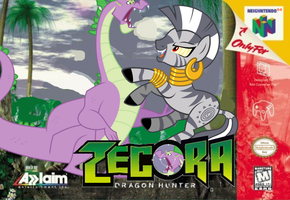Zecora: Dragon Hunter by nickyv917