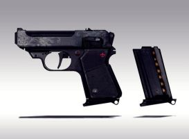 Small gun Concept i by torvenius