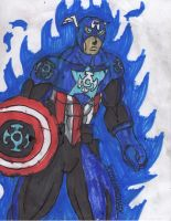 Blue Lantern Cap again by ChahlesXavier