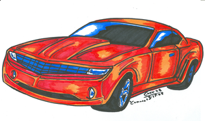 Camaro- colored :D by Fierheart
