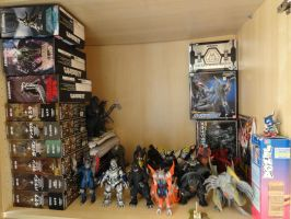 Godzilla Collection 2012 (Part 1) by GIGAN05