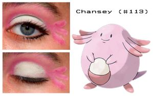 Pokemakeup 113 Chansey by nazzara