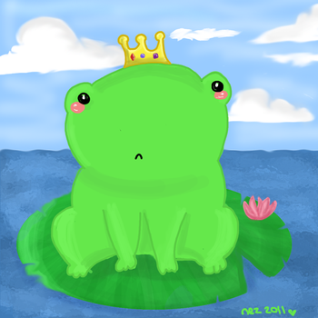 The Frog Prince by Nezzykins