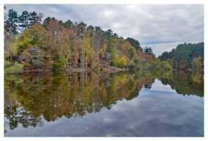 Fall Reflection 2 by evaPM
