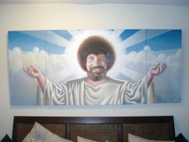 Bob Ross, our savior. by nitsud08