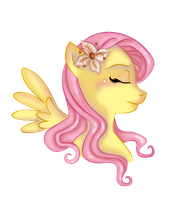Fluttershy by MonocleBunny