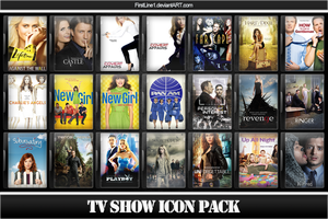 TV Show Icon Pack 9 by FirstLine1