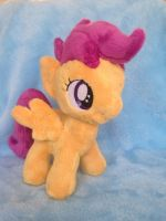Mini Scootaloo by perfectlyplushie