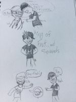Markiplier and friends! by 1ninjaminecrafter13