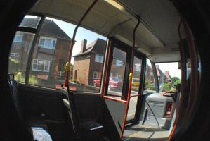 fish eye's lens stock BUS 3 by Theshelfs