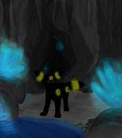 In a dark cave .. by Accalialove