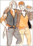 Iron Artist 14: Bjorn and Collin by Luciana-Lu