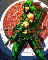 GreenArrow by Chuckdee