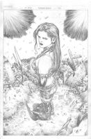 X-23 Again - Fin Pencils by edtadeo