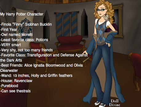 My Harry Potter Character by pandapie578