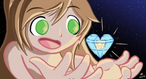 Anzu's Gem - Commission for SuperSonicWinxKnux by GlitchyReal