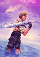 Final Fantasy X : Tidus by DeltaCrown-Studio